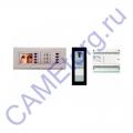 BVKITNVM21 Комплект видеодомофона BPT NOVA серебристый цвет с вызывной панелью THANGRAM 62620170