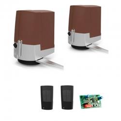 Комплект автоматики для распашных ворот Fast Brown 001UOPB1000/B на основае привода 001OPB001