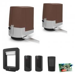 Комплект автоматики для распашных ворот Fast Brown 001UOPB1000 на основае привода 001OPB001
