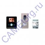 LVKITPEV14 Комплект видеодомофона BPT PERLA черный лак с вызывной панелью LITHOS 62620460