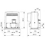 BX704AGS (801MS-0020) Привод для откатных ворот