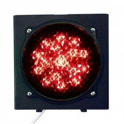 C0000705.1 Светофор светодиодный, 1-секционный, красный, 230 В