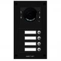 BPT MTM-R08 Вызывная вандалозащитная IP-видеопанель 4 кнопки