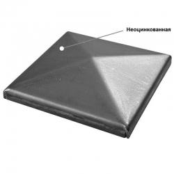 ROOF 10 B Заглушка для столба квадратная неоцинкованная 105 мм 1700064